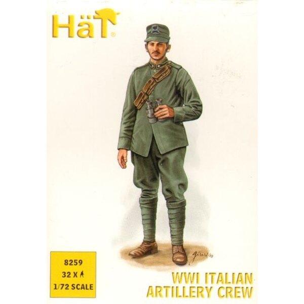 WWI Italian Artillery Crew