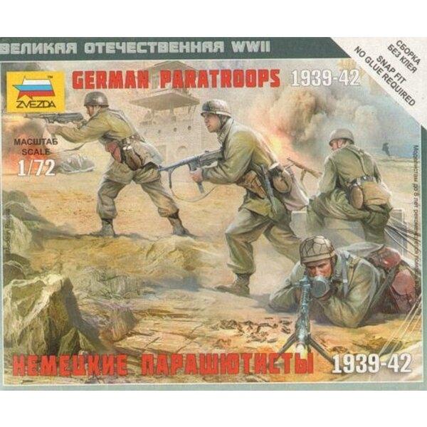 German Paratroops