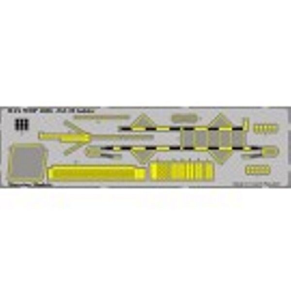 SAAB JAS-39 Gripen boarding ladder PRE-PAINTED (designed to be assembled with model kits from Italeri)