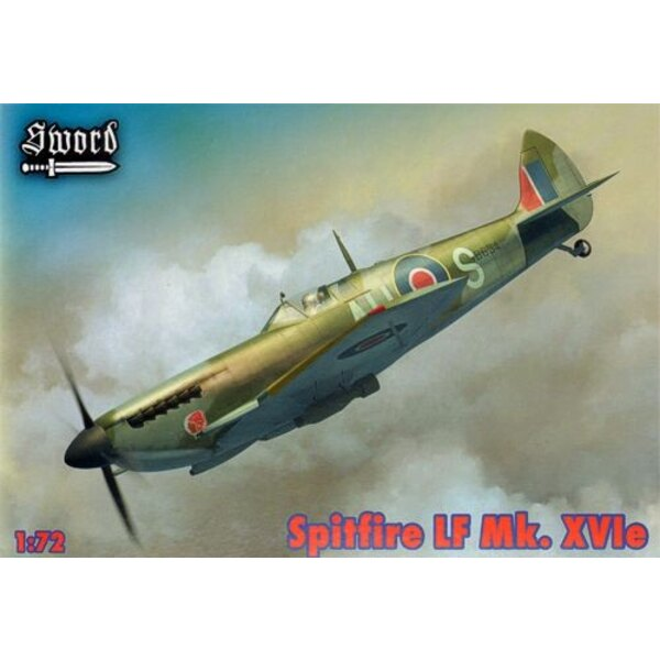 Supermarine Spitfire LF Mk.XVIe Versions for TB634, TB520, SM471 Includes resin canons and exhausts