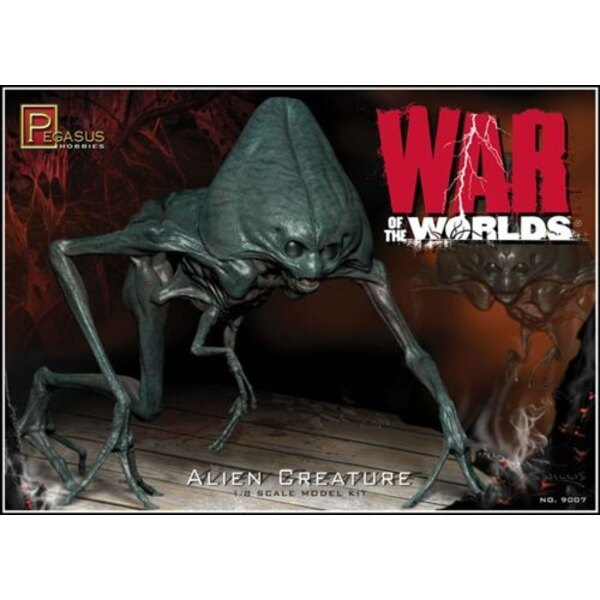 Alien Creature from ′War of the World′