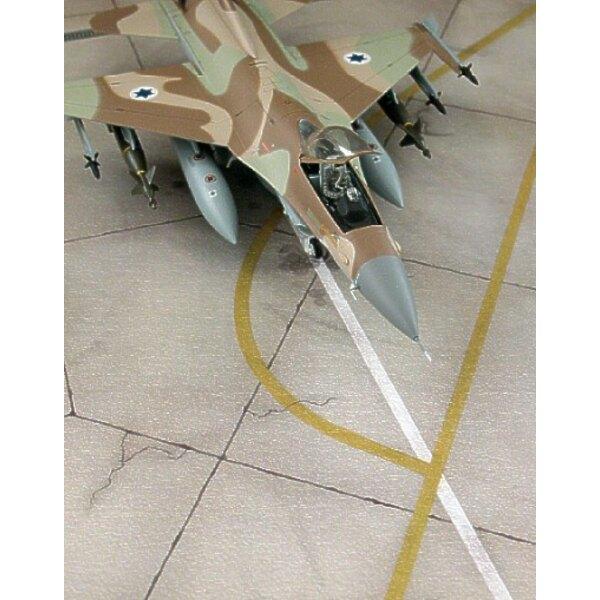 Modern IAF Regular Tarmac. Length: 14.90 cm/5.87 inch; Width: 10.25 cm/4.04 inch.