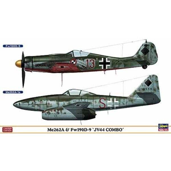 Me 262 & Fw 190D-9 JV 44 Combo 2 kits in box