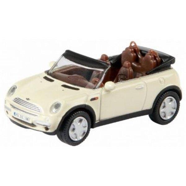 Mini Cooper Cabrio White 1:87