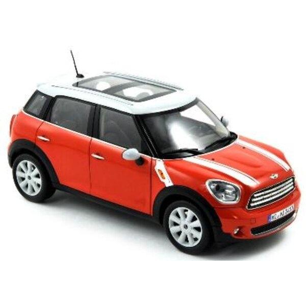 Mini Cooper 2010 Red White 1:43