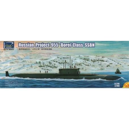 Russian Project 955 Borei class SSBN (Model Kits X2)