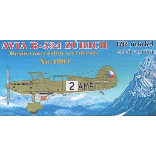Avia B-534 Zurich Conversion set + decals