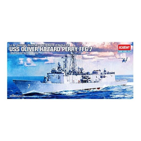 U.S Navy Guided Missile Frigate USS Oliver Hazard Perry FFG-7