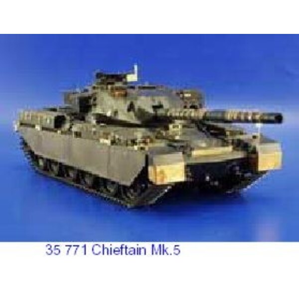 Chieftain Mk.5 (designed to be assembled with model kits from Tamiya TA35068)