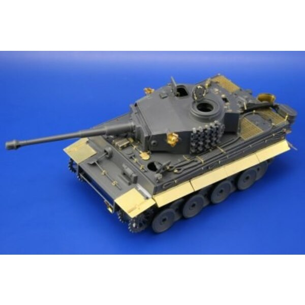 Tiger I Ausf.E early (designed to be assembled with model kits from Tamiya TA35216)