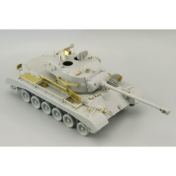 M26 (designed to be assembled with model kits from Hobby Boss)