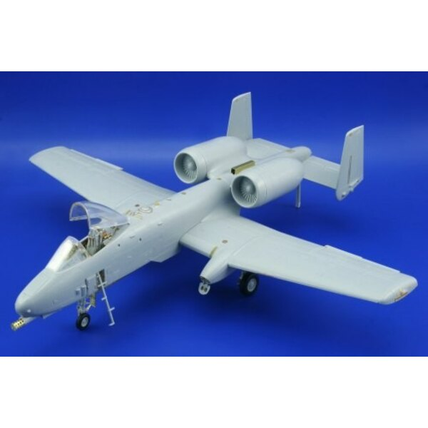 Fairchild A-10 Thunderbolt II exterior (designed to be assembled with model kits from Hobby Boss)