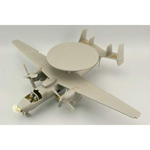 Grumman E-2C Hawkeye exterior (designed to be assembled with model kits from Kinetic)