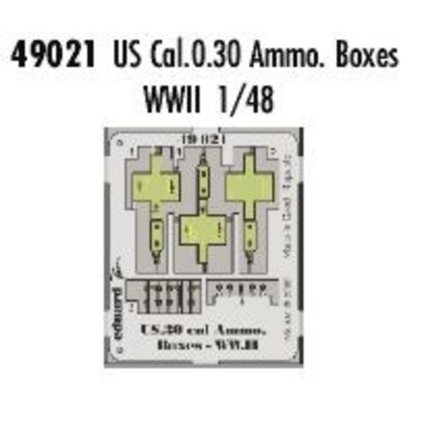 US Cal.0.30 ammunition boxes WWII