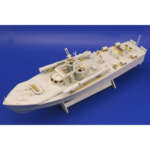 Vosper M.T.B (designed to be assembled with model kits from Revell)