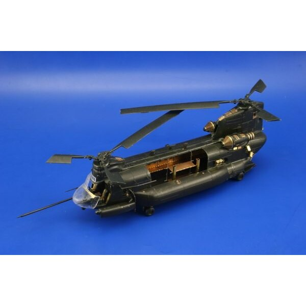 Sikorsky MH-47E Chinook exterior (designed to be assembled with model kits from Revell)