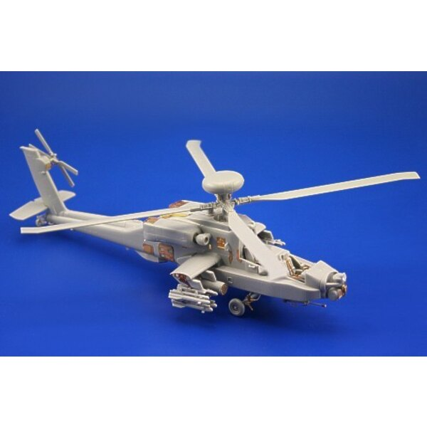Boeing AH-64D (self adhesive) PRE-PAINTED IN COLOUR! (designed to be assembled with model kits from Hobby Boss)