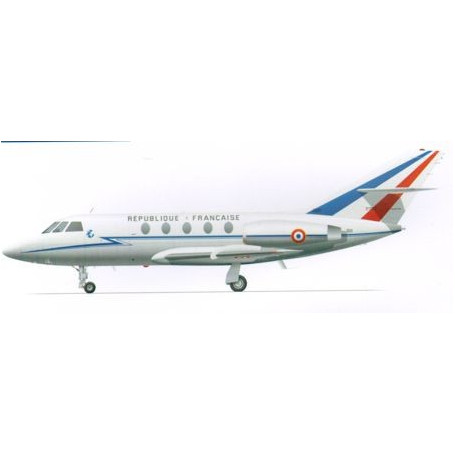 Dassault Falcon 20. Decals French Air Force