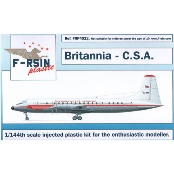 Bristol Britannia 300. Decals CSA