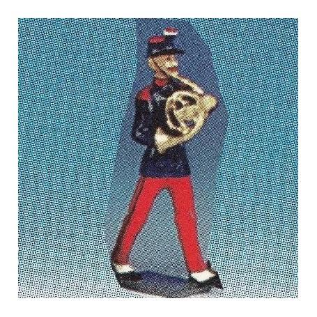 Line Brass Band Horn