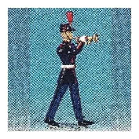 Garde Républicaine with trumpet