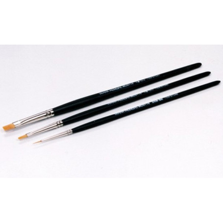Brushes X3 (Hf N.0 And 2+ Pointed)