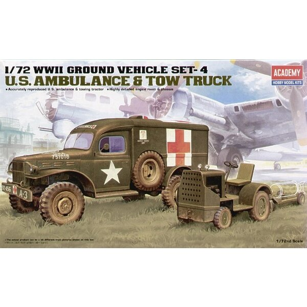 WWII US Ambulance & Towing Tractor
