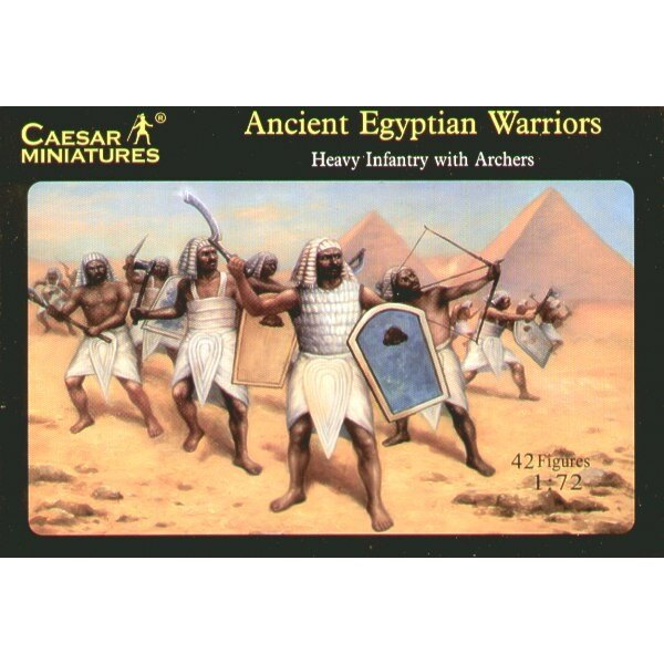 Egyptian Heavy Infantry with Archers Warriors