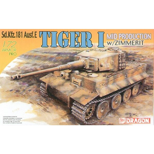 Tiger I Mid Production with Zimmerit