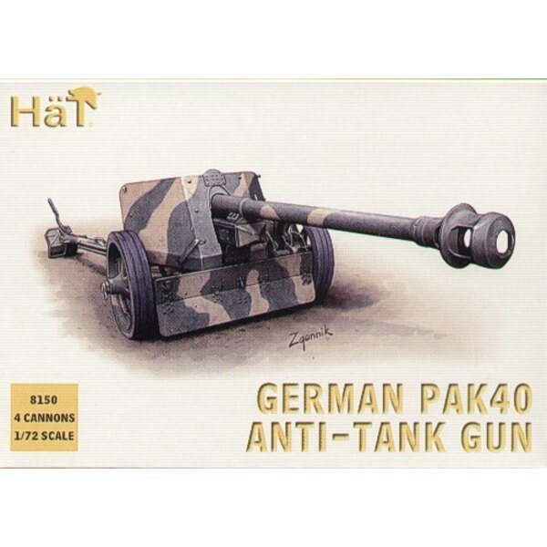 German Pak 40 75mm anti tank gun WWII