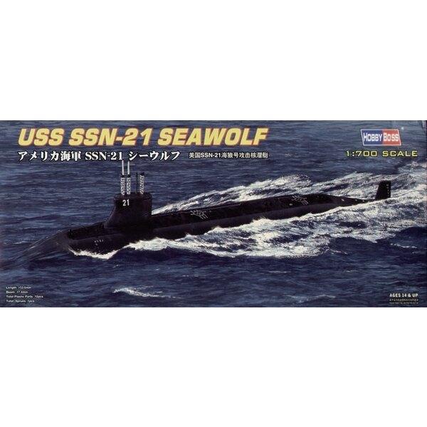 USS Seawolf SSN-21 Submarine (submarines)