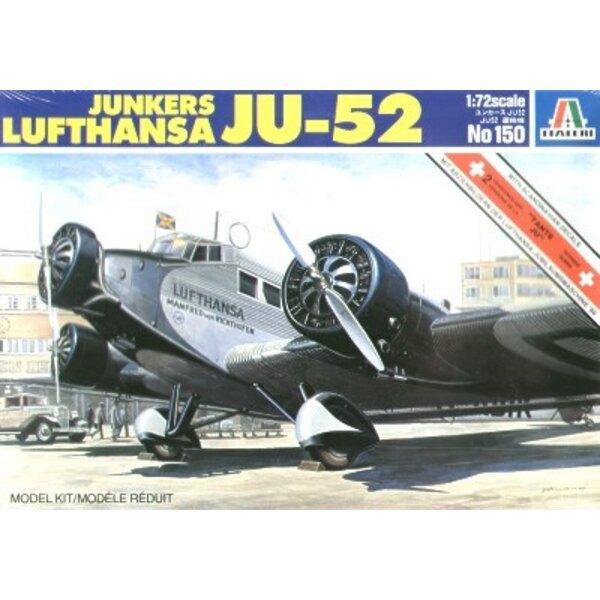 Junkers Ju 52/3M Lufthansa Swiss Air x 2 Scandinavian.