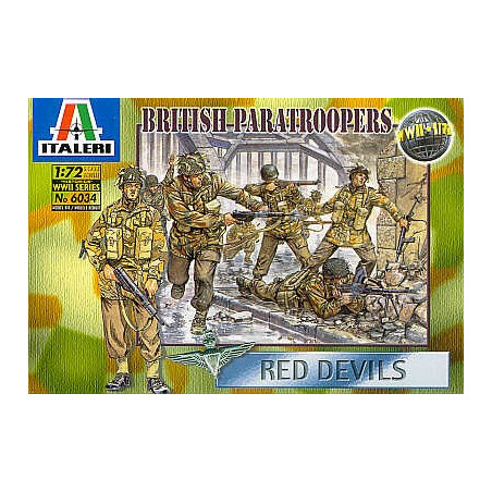 WWII Red Devil Paratroopers