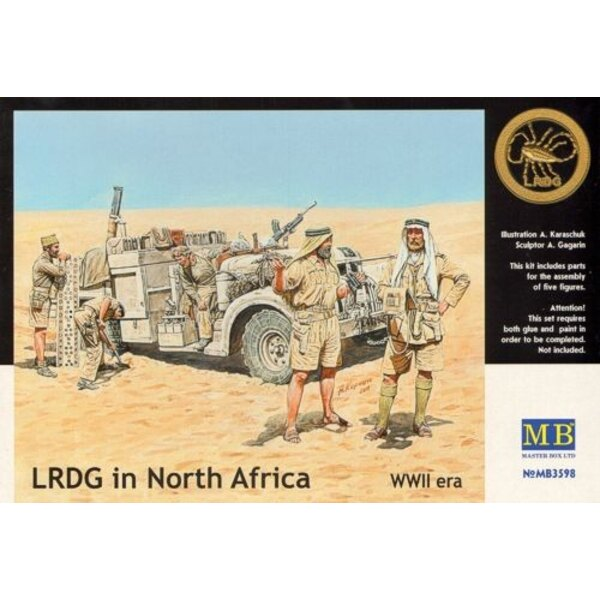 LRDG in North Africa WWII era