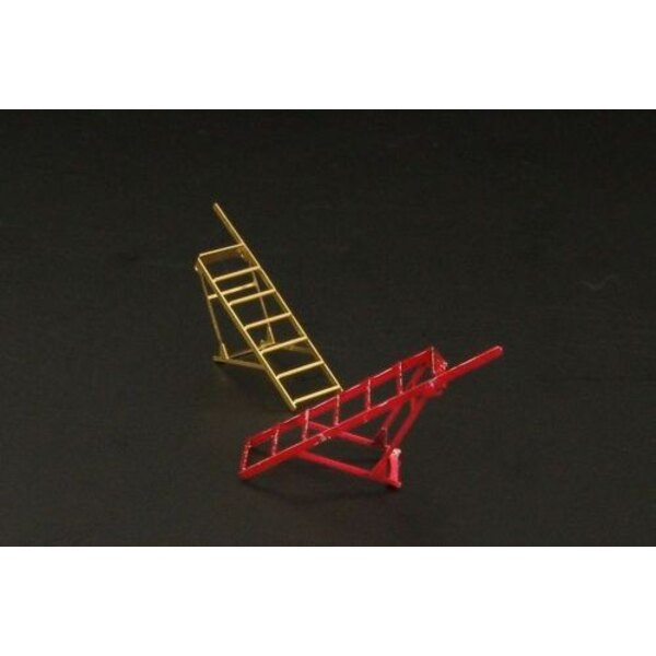 Step ladders for Hawker Hunter and BAe Harrier x 2