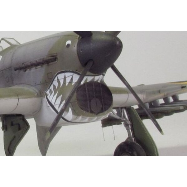 Hawker Typhoon Mk.IB Air intake mesh (designed to be used with Academy kits)