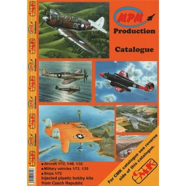 MPM AND CMK AND PLANET full colour catalogue 2012. Over 60 pages of picrures and complete listings for all products from these 3