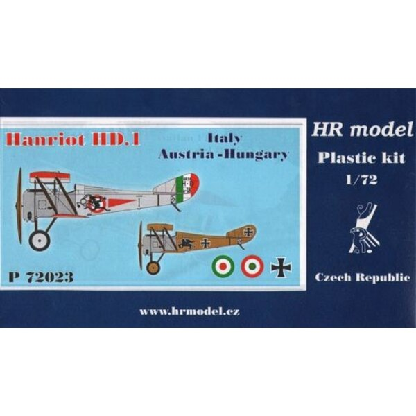 Hanriot HD.1 Decals Italy and Austria-Hungary