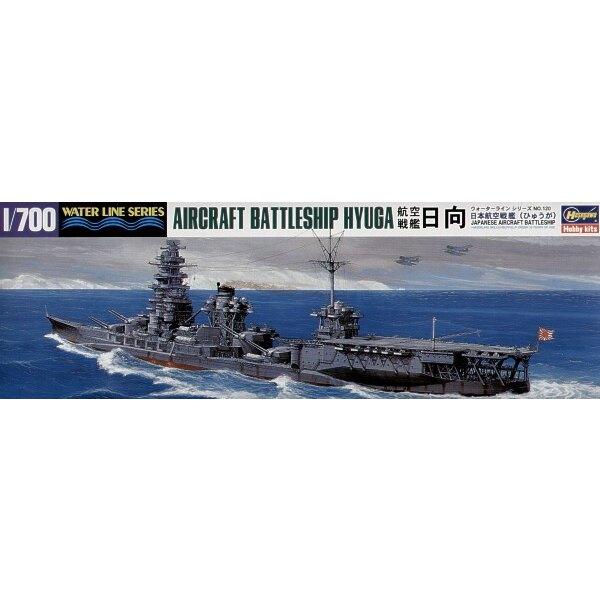 Hyuga; Japanese Aircraft Battleship