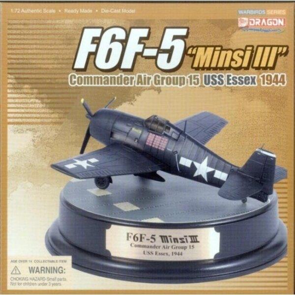 """F6F-5 Hellcat """"""""Minsi III"""""""" - USS Essex 1944"""