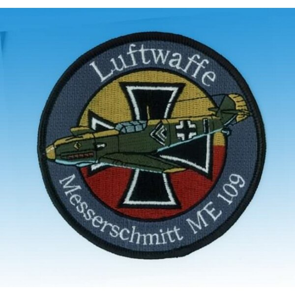 Patch Messerschmitt Me109 Luftwaffe