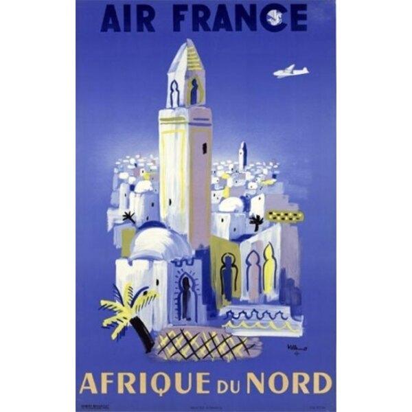 Air France - Afrique du Nord - Villemot 1948
