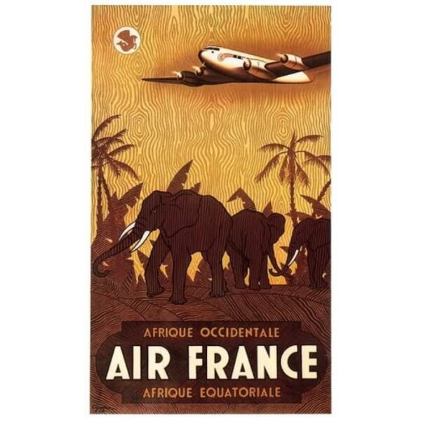 Air France - Afrique Occid-Equat - V.Guerra 1948