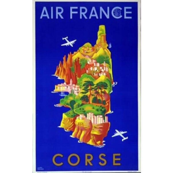Air France - Corse - L.Boucher 1949