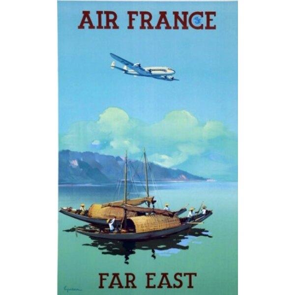 Air France - Far East - V.Guerra 1950