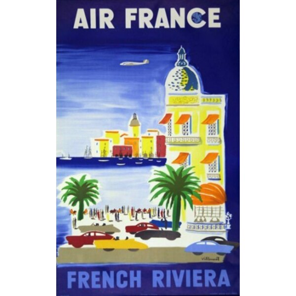 Air France - French Riviera - B.Villemot