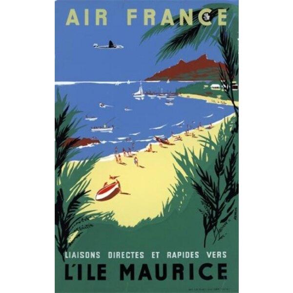 Air France - Île Maurice- Renluc 1954