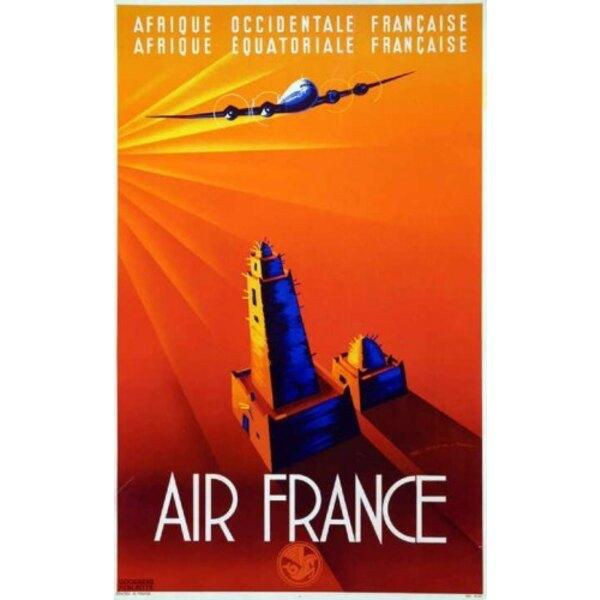 Air France - Afrique Occidentale Française - Mauru