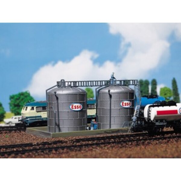 2 Oil storage tanks