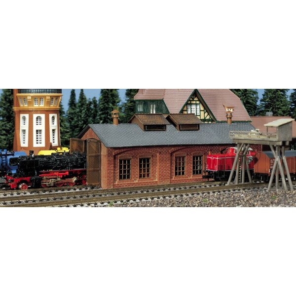 One stall engine shed